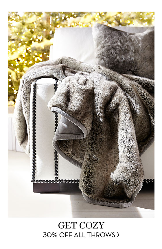 Super cozy throws - 30% off today